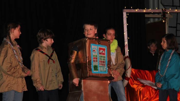 Am Wochenende stehen die Pfadislis der Region endlich wieder als Schauspieler auf der Bühne, jahrelang fehlte es an Kindern und Leitern.