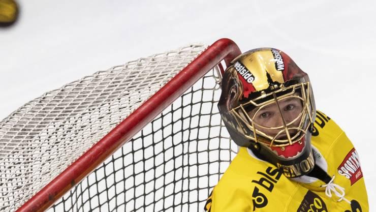 Nicht zu überwindendes Bollwerk: SCB-Goalie Leonardo Genoni feierte gegen die SCL Tigers den ersten Hattrick der Saison