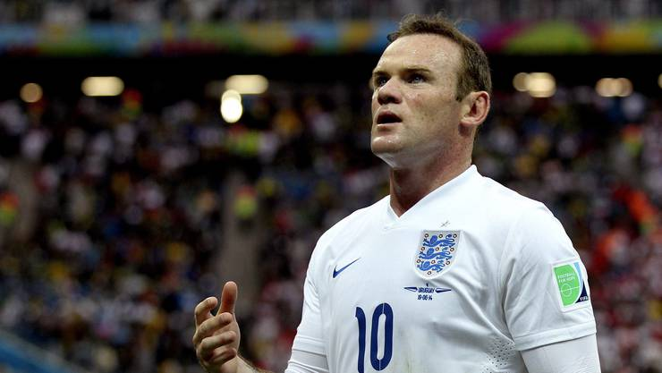 Wayne Rooney fehlt gegen Deutschland.