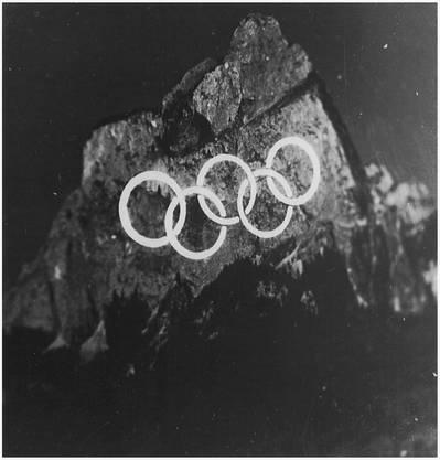 Der Einsatz des «Spitlight» an den Winter-Olympiaden 1956.