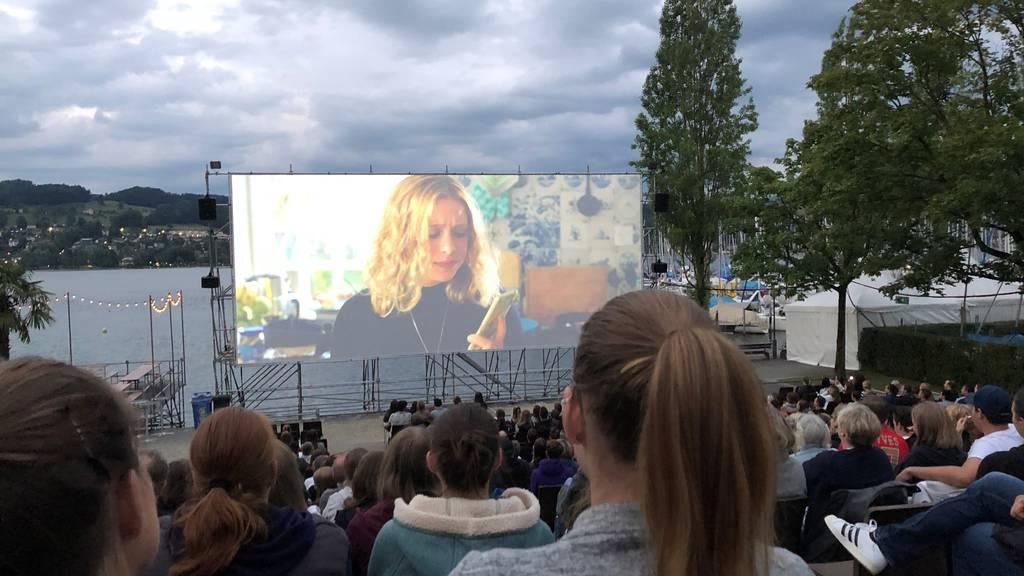 Open Air Cinema Luzern profitiert vom schönen Wetter