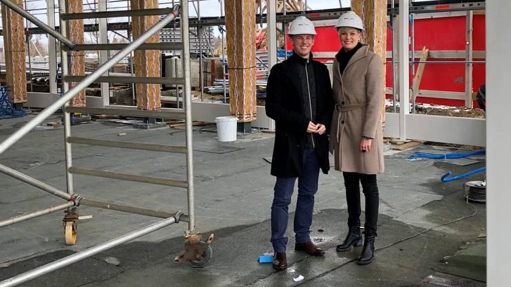Direktorin Andrea Schlumpf und Vizedirektor Lukas Wilhelmi.