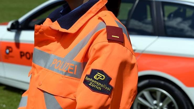 Die Kantonspolizei Zürich musste am Freitagmorgen wegen eines verdächtigen Gegenstandes hinter einem Holzschopf an der Oberwilerstrasse ausrücken. (Symbolbild)