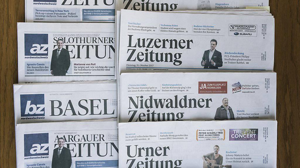 Das Zusammengehen der AZ Medien und der NZZ-Regionalmedien führt zu einem Abbau von 200 Vollzeitstellen. (Symbolbild)
