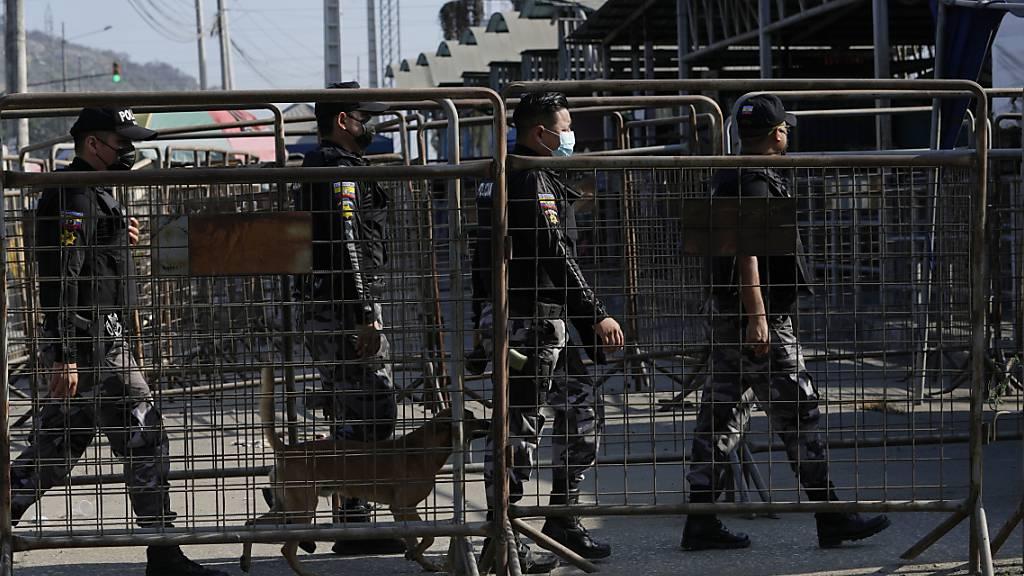 Zahl der Toten bei Gefangenenmeuterei in Ecuador steigt auf 27