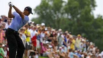 Tiger Woods gelang die erste Runde (fast) wunschgemäss