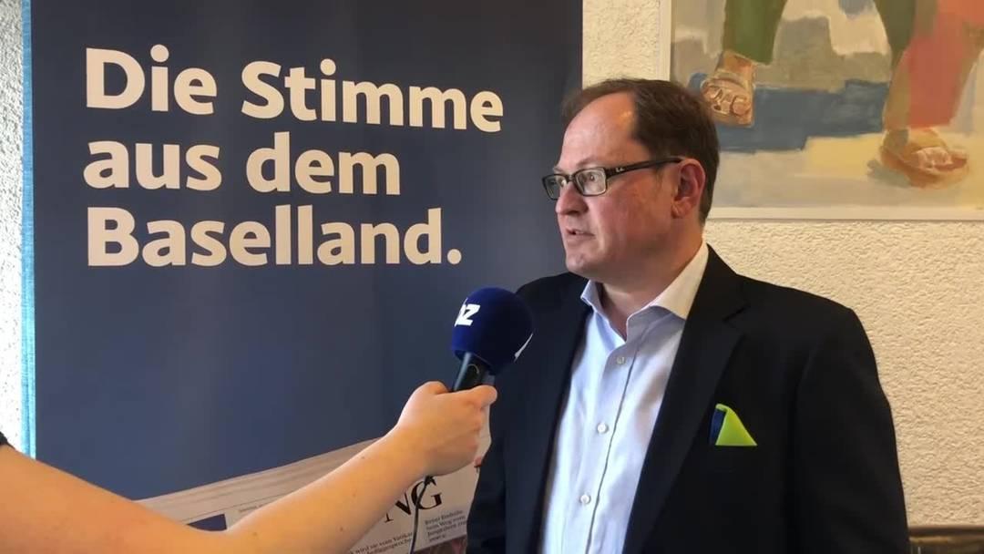 Hans-Martin Jermann erste Einschätzung zu den Regierungsratswahlen