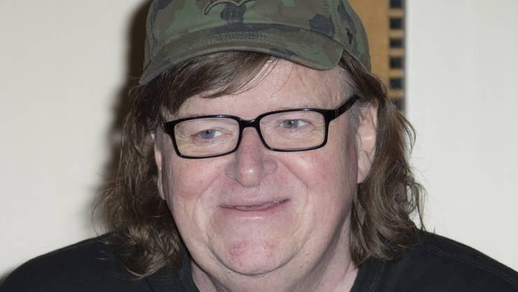 """US-Regisseur Michael Moore will als Protagonist einer Ein-Mann-Broadwayshow Einblick in die """"Vereinigten Staaten des Wahnsinns"""" geben. (Archivbild)"""