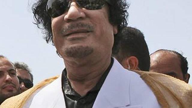 Muammar Gaddafi wird in Italien aktiv (Archiv)