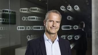 Marco Gadola, CEO der Straumann-Gruppe, kann sich über solide Umsätze freuen. (Archiv)