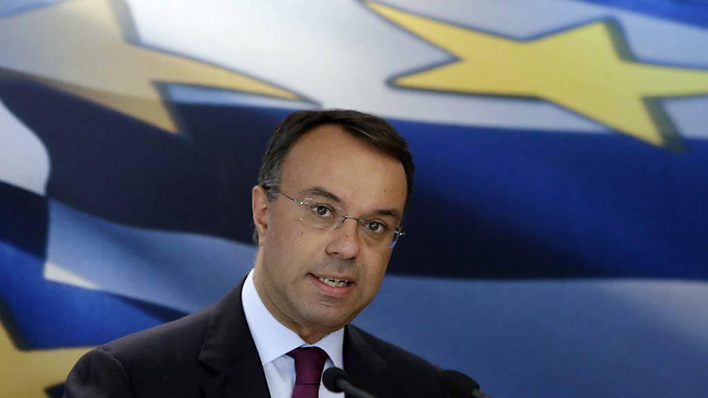 Neue griechische Regierung in Athen vereidigt