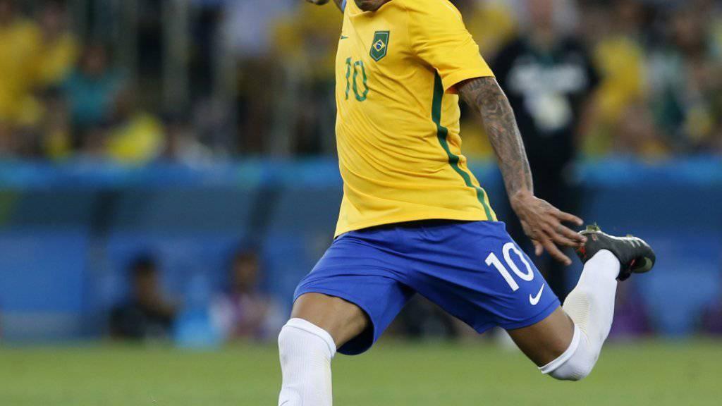 Neymar führte Brasilien zu Olympia-Gold