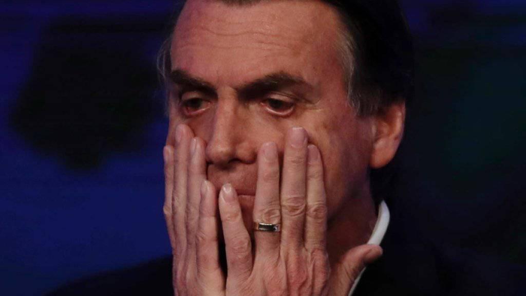 Der frühere Fallschirmjäger Jair Bolsonaro wettert gegen Schwule und Schwarze.