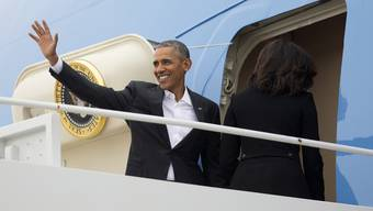 Obama in Kuba gelandet