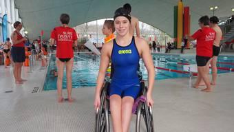 Nora Meister ist der Shooting-Star im Para-Swimming.
