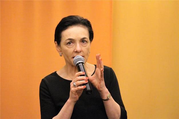 Marianne Binder-Keller, Präsidentin CVP Aargau und Grossrätin