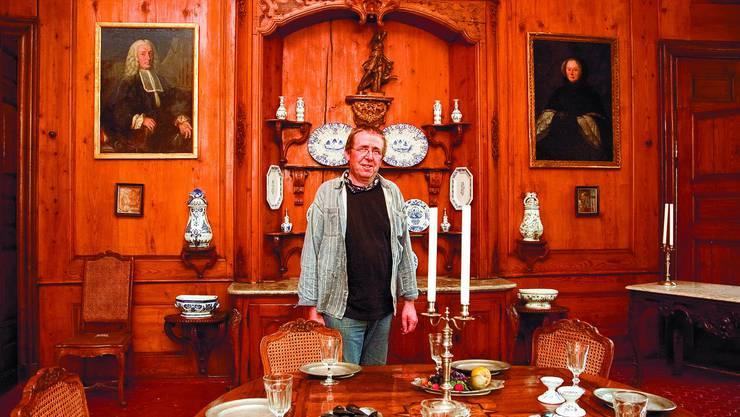 Ede, Edel: So prunkvoll kann ein Arbeitsplatz aussehen. Doch Rolf Weber mag seinen Job nicht nur wegen der schönen Dinge, von denen er umgeben ist.