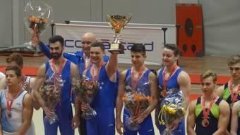 Die Aargauer Männer gewinnen die Schweizer Mannschaftsmeisterschaft.