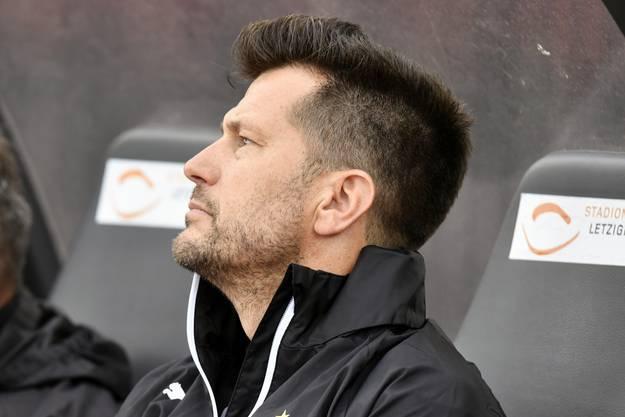 Mathias Walther wurde vor zwei Wochen bei den Grasshoppers zusammen mit dem Trainer entlassen.