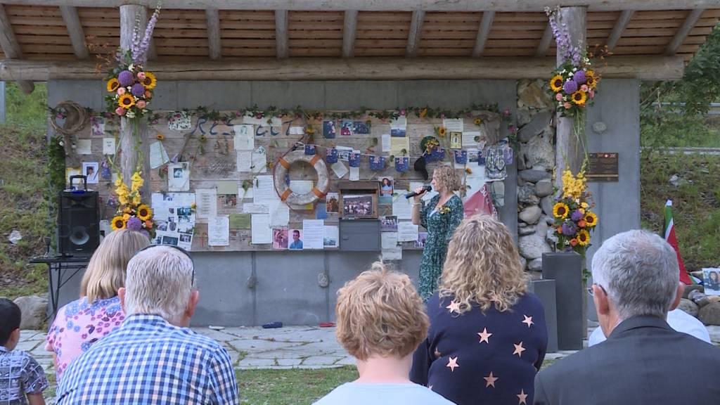 20 Jahre nach dem  Saxetbach-Drama: Überlebende kehren an Unglücksort zurück