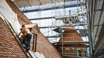 Die Sanierung von Gebäudehüllen kann dazu beitragen, den Energieverbrauch zu senken. (Symbolbild)