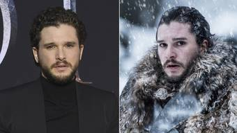 Kit Harington spielt in «Game of Thrones» Jon Schnee – und schleppt einen 20 Kilo schweren Mantel mit sich herum.