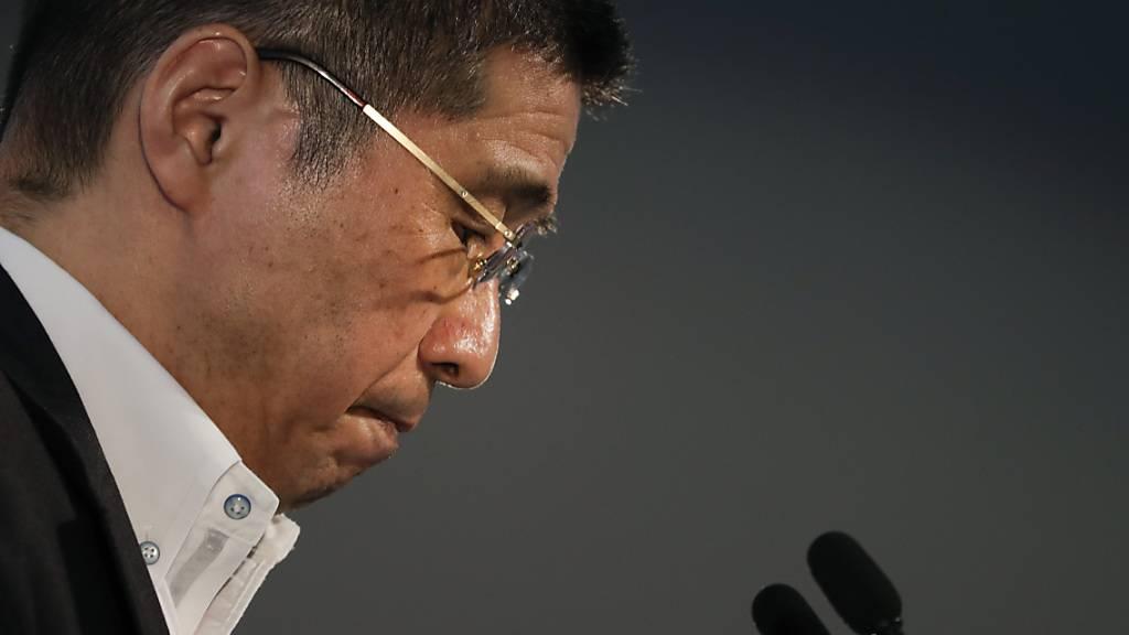 Nissan-Chef Hiroto Saikawa tritt zurück. Er hätte nach dem Rausschmiss des ehemaligen Renault-Chefs Carlos Ghosn als Verwaltungsratschef den Autokonzern aus dem Tief  führen sollen.