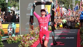 Daniela Ryf unterbot ihren eigenen Streckenrekord beim Ironman Hawaii um über 18 Minuten.