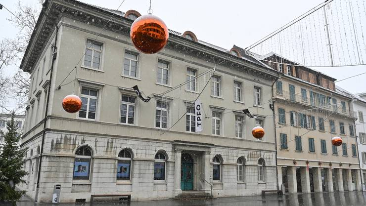 Das alte Naturmuseum - im Moment durch die IFPO belegt.