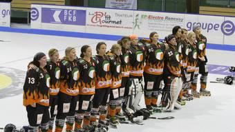 Eine Einheit - Die Inlinehockey-Damenmannschaft aus Rothrist