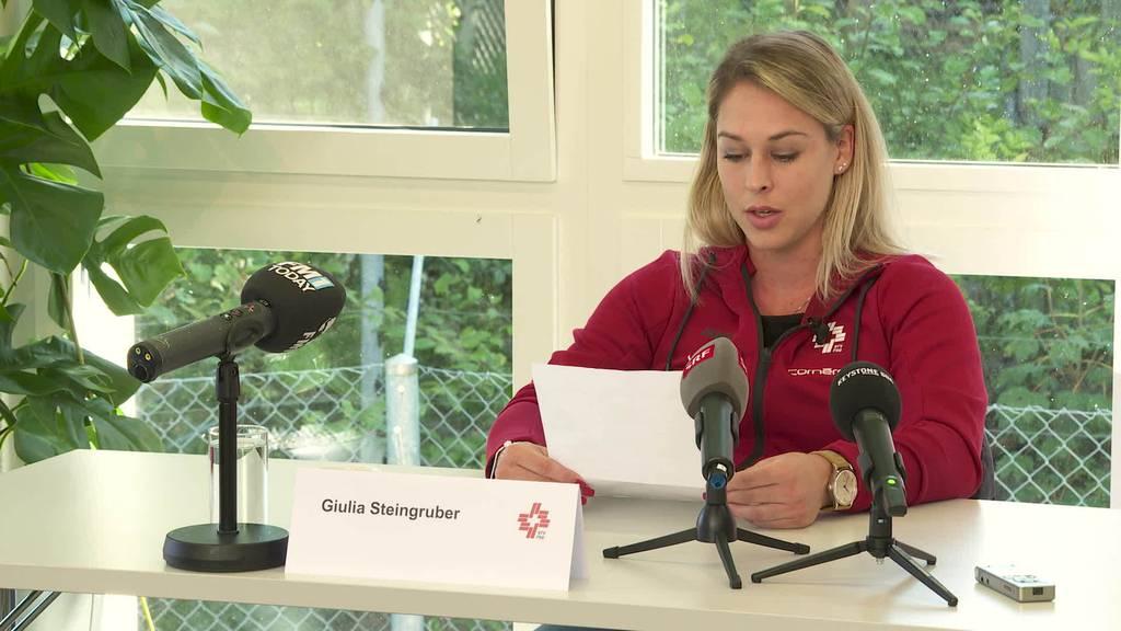 Rücktritt: Kunstturnerin Giulia Steingruber beendet Karriere