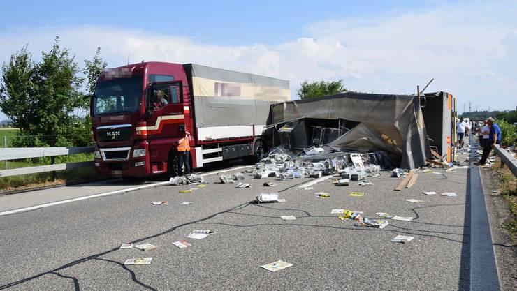 Autobahn A1 Unfall Heute