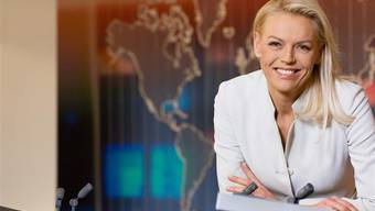 Die 48-Jährige moderiert seit 1992 als Moderatorin und Redaktorin der Tagesschau-Hauptausgabe von SF.