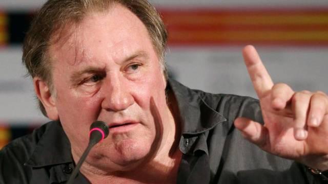 Auf Putin lässt er nichts kommen: Gérard Depardieu