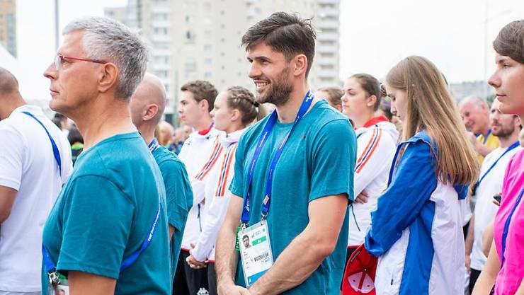 Boxer Ukë Smajli will an den European Games in Minsk eine Medaille