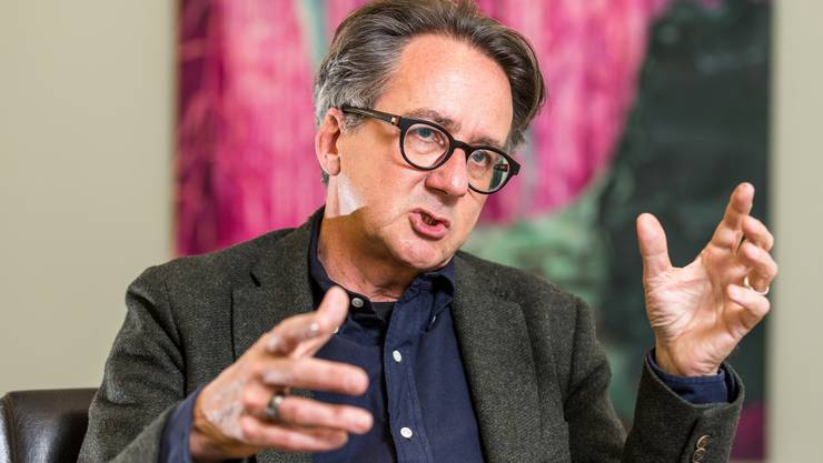 Theater, Musik, Literatur, bildende Kunst – die Stadt Baden hat sich der Vielfalt verpflichtet: Erich Obrist im Kunstraum Baden.