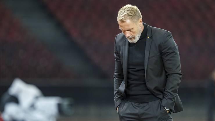 Thorsten Fink ist nicht mehr Trainer von GC.