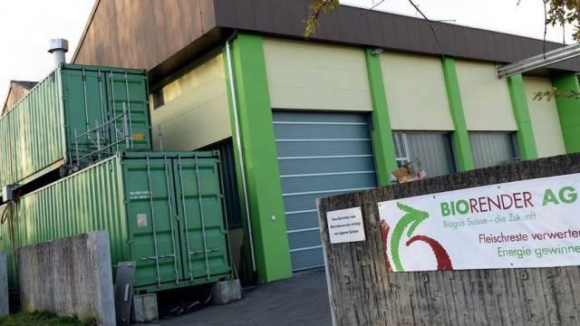 Die Firma Biorender AG in Münchwilen, TG (Archiv)