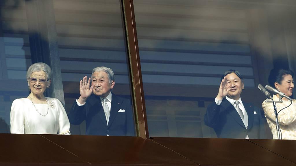 Neue Sorgen um Japans abgedankten Kaiser Akihito