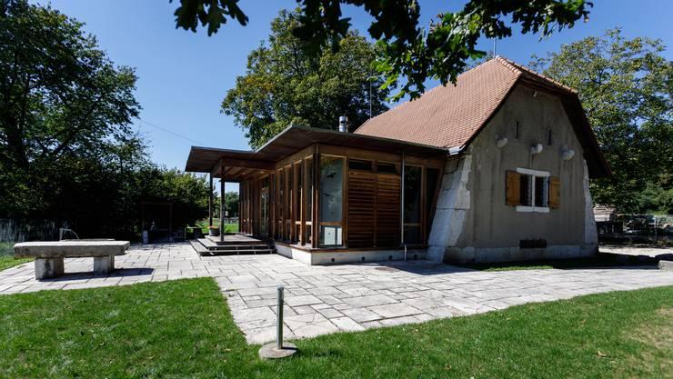 Das Pulverhaus ist ungefährt 200 Jahre alt.