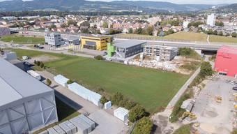 Auf dieser Fläche soll das neue Zuhause der Aargauer Turnerinnen und Turner entstehen.