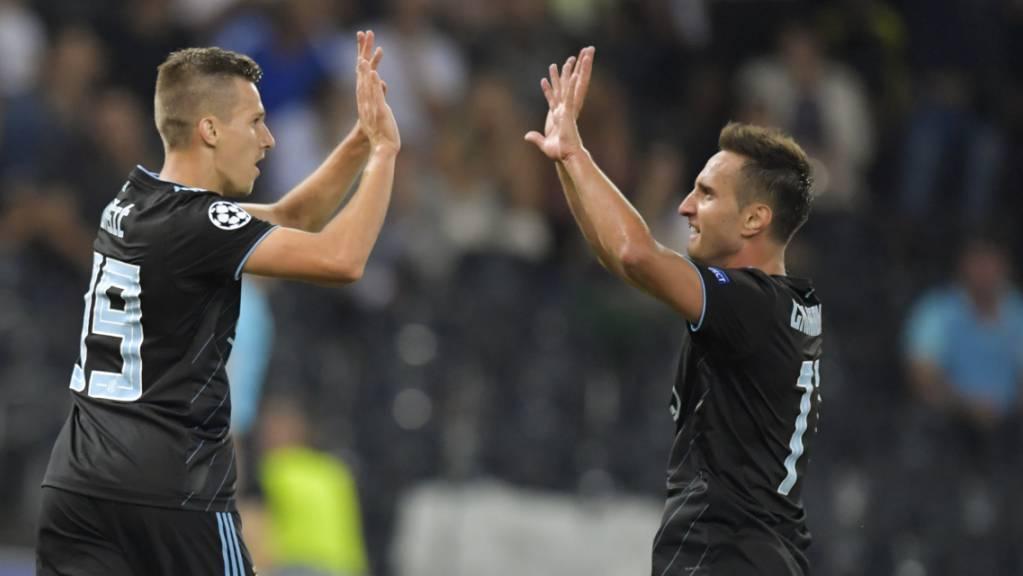 Mario Gavranovic (rechts) hat in diesen Tagen viel zu feiern