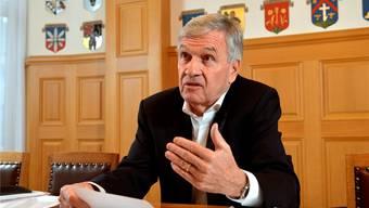 Franz Schilt, Bürgergemeindepräsident Grenchens, wehrt sich gegen Entwicklungen im Einbürgerungsverfahren. om
