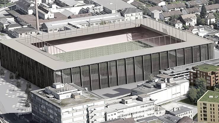 Stadionprojekt im Torfeld Süd. zvg