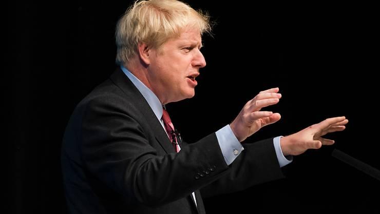 Musste sich in einem BBC-Interview vom Moderator belehren lassen: Boris Johnson, früherer britischer Aussenminister und jetziger Kandidat für das Amt des Premierministers.
