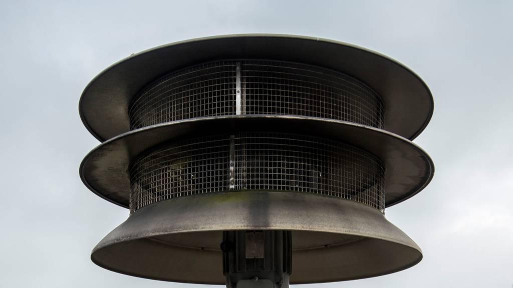 Der Sirenenalarm dürfte viele Bewohner erschreckt haben. (Symbolbild)