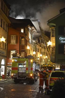 Brand in der Zürcher Altstadt