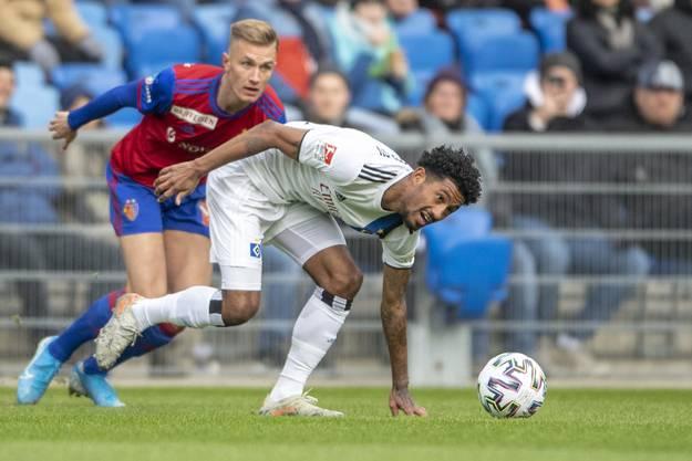 Weitere Impressionen vom Spiel FCB gegen HSV: