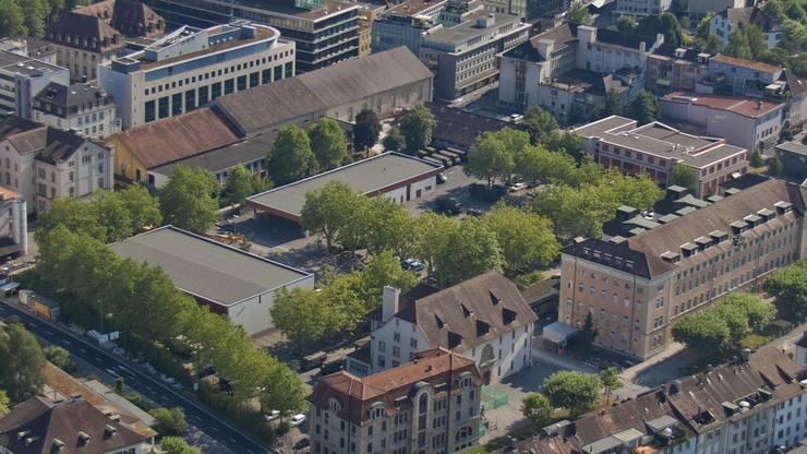 2018 waren fast 76 Prozent der Aargauer Stellungspflichtigen diensttauglich. Im Bild: die Kaserne Aarau.