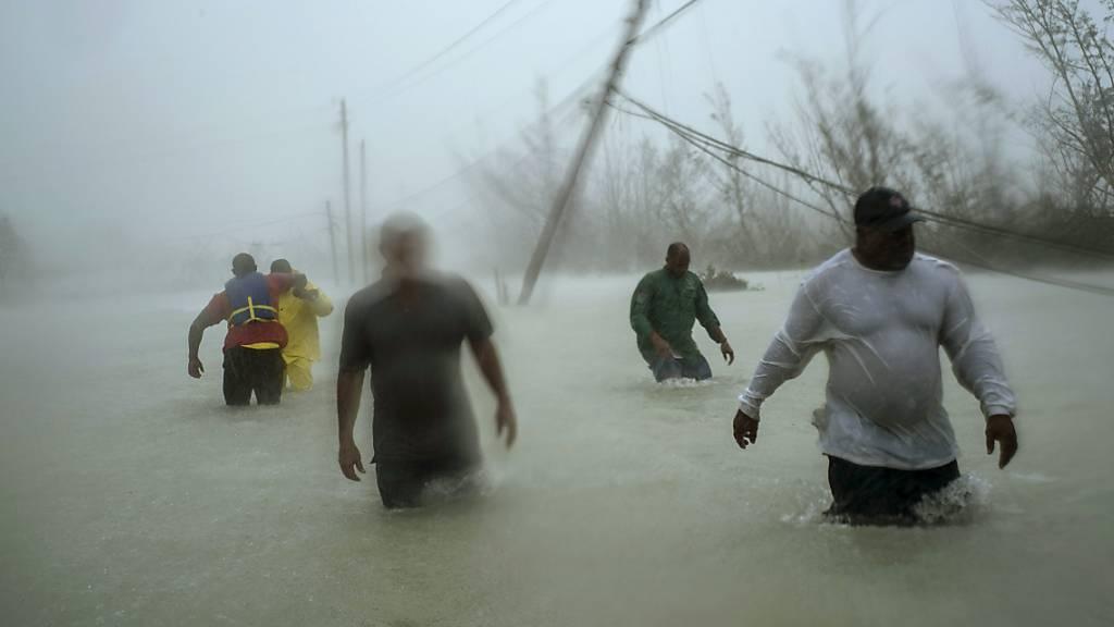 Der Hurrikan «Dorian» hat auf seinem Weg über viele Inseln der Bahamas eine Schneise von Verwüstungen hinterlassen.